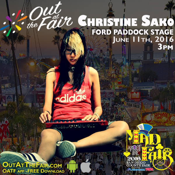 Christine Sako Del Mar Fair 2016
